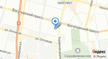 Зуботехническая лаборатория Первой семейной клиники Петербурга на карте