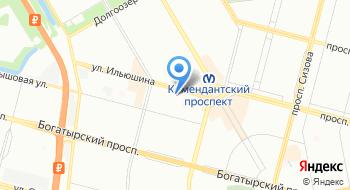 ТСЖ Ильюшина 6 на карте