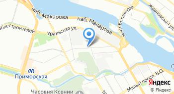 Интернет-магазин XYZshop на карте