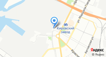 Мотоцентр Автово на карте