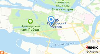 Лапландия парк на карте