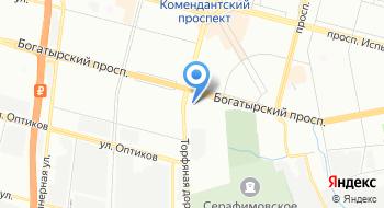 Барс-Гидравлик Групп Административный офис на карте