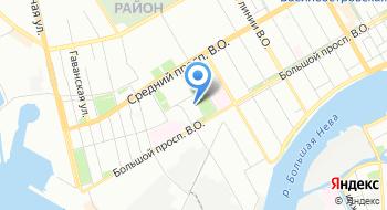 Биржа Санкт-Петербург на карте
