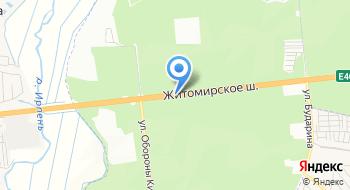Святошинское Лесничество Святошинского лесопаркового хозяйства на карте