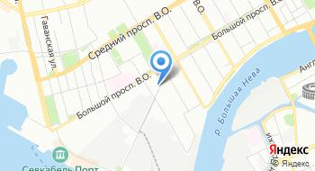 Медико-санитарная часть № 3 Балтийского завода-судостроение на карте