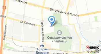 Интернет-магазин Маркет-шина СПб, пункт выдачи на карте