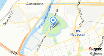Парк культуры и отдыха Екатерингоф на карте