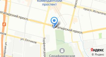 Центар на карте