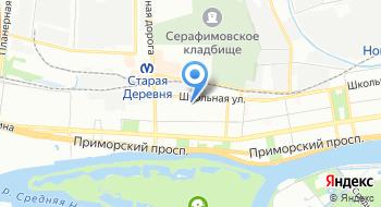 Восточный центр на карте