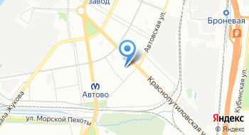 ИКМО Автово на карте