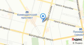 РОО Общество правовой защиты потребителей жилищно-коммунальных услуг по г. Санкт-Петербургу на карте