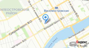 Межрайонная ИФНС России №16 по Санкт-Петербургу на карте