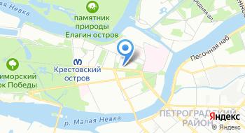 Гольф-клуб Крестовский на карте