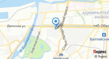 Барренс на карте