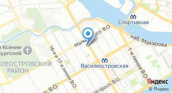 ГеоСервис СПб на карте