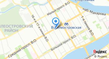 Драматический театр на Васильевском на карте