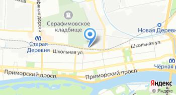 Фабрика детской мебели UFOkids на карте