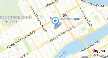 Дом молодежи Санкт-Петербурга на карте