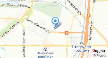 Поликлиника метрополитена на карте