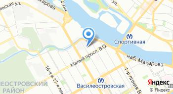 Сарториус Рус на карте