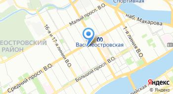 Санкт-Петербургская Объединенная коллегия адвокатов на карте