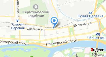 Отдел образования Приморского района Санкт-Петербурга на карте