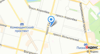 СПб Гбпоу Техникум Приморский на карте