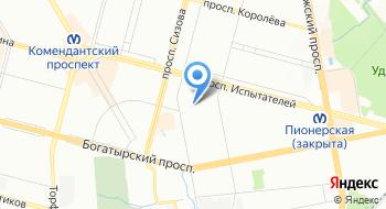 Центр гигиены и эпидемиологии в городе Санкт-Петербург, филиал №5 на карте