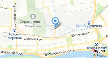 Фацер на карте