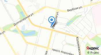 Еврейский центр в Приморском на карте