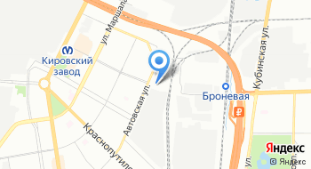 Троллейбусная станция на карте