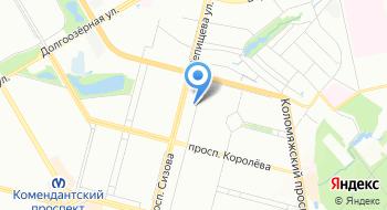 Центр лицензирования и сертификации на карте