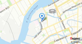Дом престарелых Адмиралтейский СГЦ Опека на карте