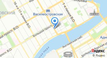 Санкт-Петербургская таможня на карте
