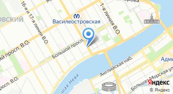 Денталлит на карте