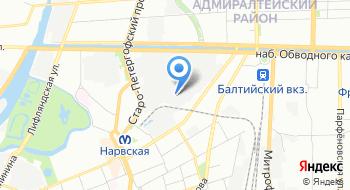 Ставрос на карте