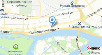 Дом престарелых Приморский СГЦ Опека на карте
