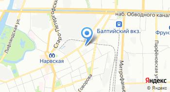 Лазертаг клуб Тактика, офис на карте