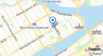 Дешёвое такси Санкт-Петербург на карте
