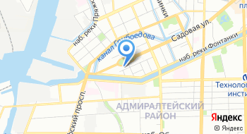 Коллекторское агентство Акцепт Санкт-Петербург на карте