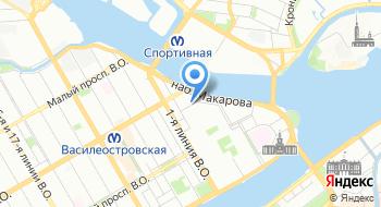 Высшая школа менеджмента Санкт-Петербуржского Государственного университета на карте