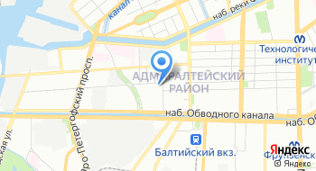 Институт БДД СПбГАСУ на карте
