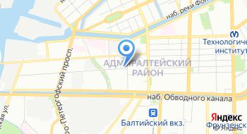 Федеральное бюджетное учреждение Тест Санкт-Петербург на карте