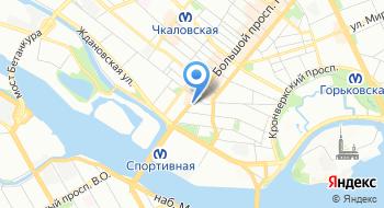 Юнайт на карте