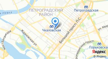 Петербургская Центральная Регистрационная компания на карте