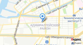 Военный комиссариат Адмиралтейского и Кировского районов г. Санкт-Петербурга на карте