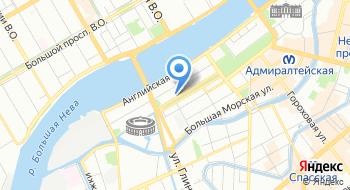Общественная организация Территориальная организация Санкт-Петербурга и Ленинградской области работников судостроения, судоремонта и морской техники на карте