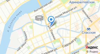 Санкт-Петербургская консерватория на карте