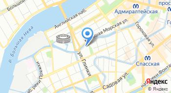 Санкт-Петербургская академия Следственного комитета на карте