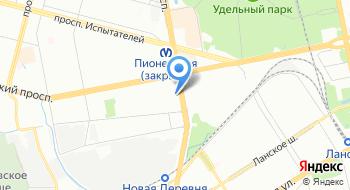 Такси03 на карте